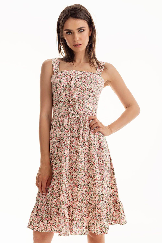 881ac309d05 Платье с воланами купить в интернет-магазине женской одежды Natali ...