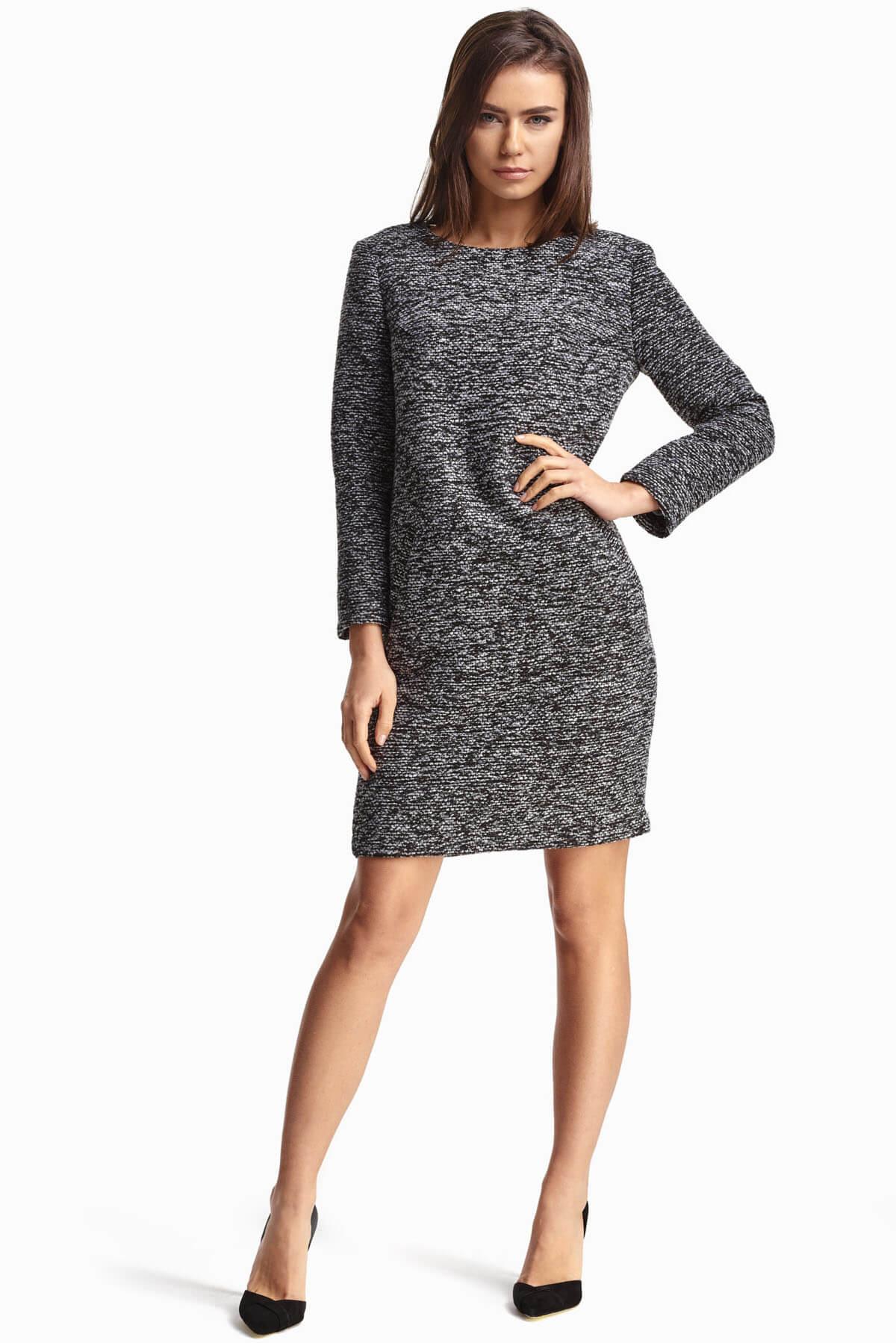 cb66f09f545 Платье из ткани букле купить в интернет-магазине женской одежды ...