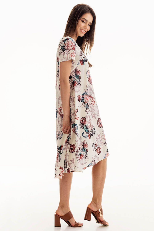 Платье с коротким рукавом купить в интернет-магазине женской одежды ... b644fa084bd