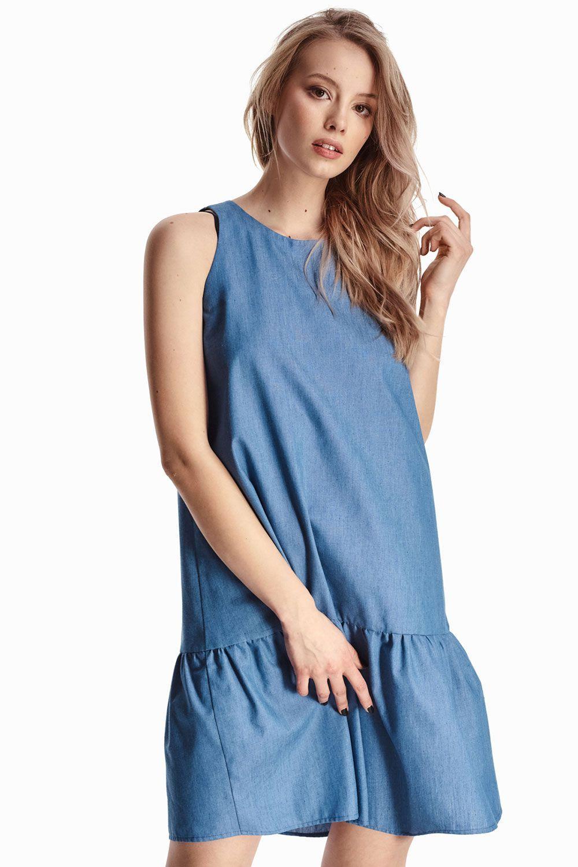 9ff7bdc73058571 Лёгкое джинсовое платье купить в интернет-магазине женской одежды ...