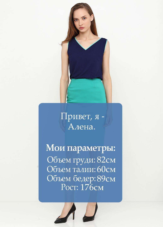 юбка бирюзовый цвет